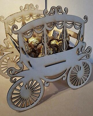 Princess Cart Ferrero Rocher / Sweets Wedding Display Stand Centrepiece