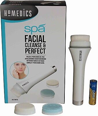 MoMedics Spa Facial Cleanse and Perfect Brush Cleansing Electric Skin Care