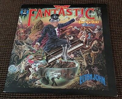 Elton John - Captain Fantastic & The Brown Dirt Cowboy (1975 DJM) LP