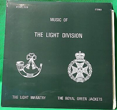 The Light Infantry The Royal Green Jackets Music of Vinyl Record LP