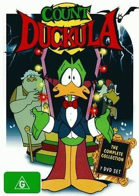 Count Duckula The Complete DVD Collection PAL Region 4 New Sealed