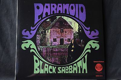 "Black Sabbath Paranoid reissue 12"" vinyl LP New"