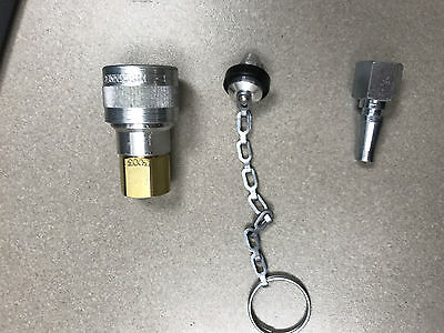 Foster SHD Schrader Quick Coupler Air Hose Connector Fittings 1/4 NPT Tools Plug