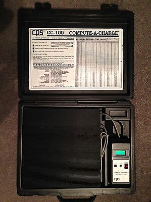 New- CPS CC-100 'Compute-A-Charge' Refrigerant Charging Scale. Never Used.