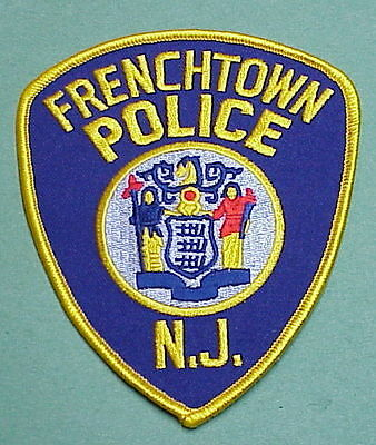 Frenchtown  New Jersey  Nj   Police Patch   Free Shipping!!!