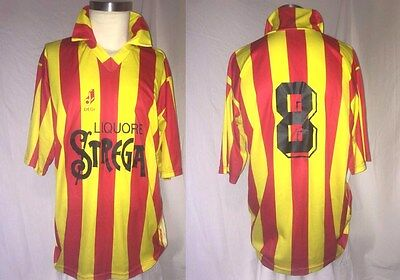 BENEVENTO match worn shirt maglia indossata  ORIGINALE Serie C