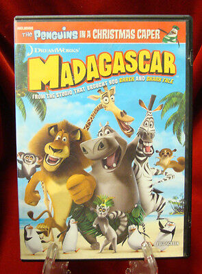 DVD - Madagascar (The Penguins in a Christmas Caper / 2005)