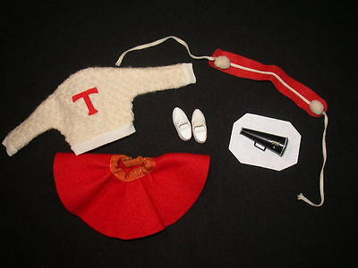 Vintage TAMMY Doll CHEERLEADER Outfit – NEAR COMPLETE