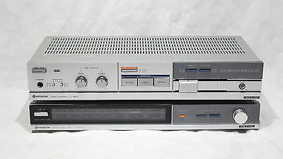 Vintage Hitach HA-1 Stereo Integrated Amplifier & FT-1L Tuner