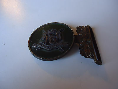 The Queens Lancers 16th division badge buckle military  great britian