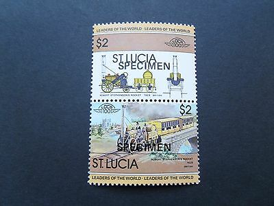 """""""Specimen"""" St Lucia MNH stamp from 1983"""