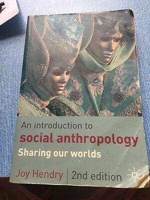 An Introduction To Social Anthropology Second Edition