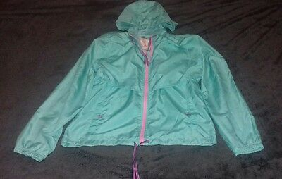 womens running jacket size 14