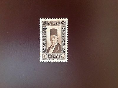Syria 1934 10p Brown SG285 FU