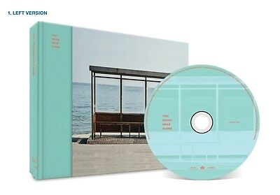 BTS - You Never Walk Alone (LEFT Ver.), CD+Standee+Booklet+Photocard+Poster