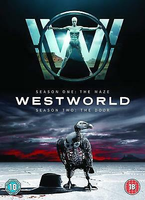 WESTWORLD 1 & 2 Complete Seasons 1 & 2 Deluxe 6 Disc Box Set - Free UK Delivery