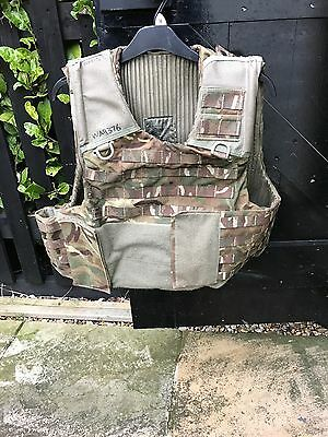 UK Military MTP plate carrier