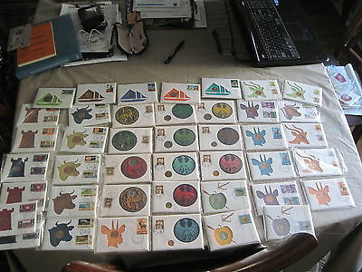 99 company Huge lot of 40 + Certified FDI Coin + Stamp Cover