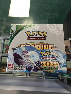 Pokemon Roaring Skies sealed unopened booster box 36 packs 10 cards 2nd Printing