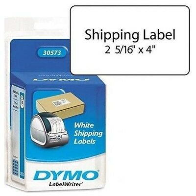 """DYMO Labelwriter White Shipping Labels 30573 2 1/8"""" X 4"""" 220 count turbo twin"""