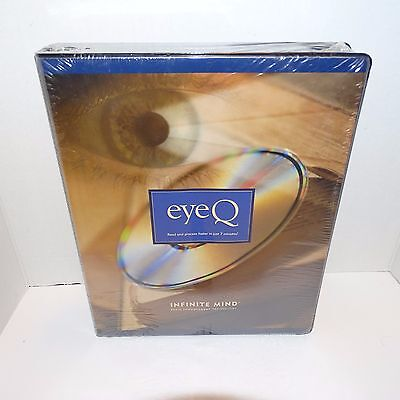 New Sealed Eye Q Speed Reading Program Read & Process Information in 7 Minutes