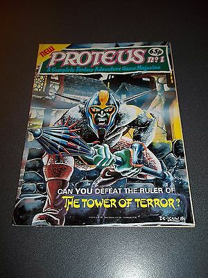 Proteus #1, 1984, Fantasy Adventure Role Playing Game Magazine, See Others