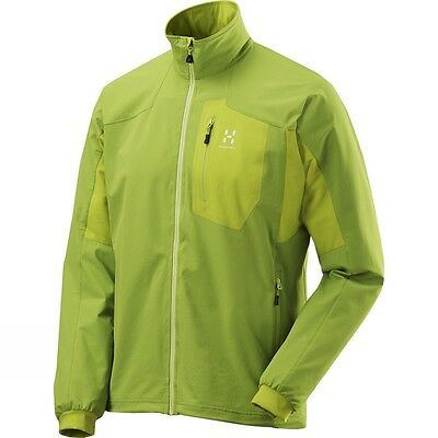 Haglofs LIZARD Men's Jacket L LARGE 'FlexAble' Softshell climatic fjell rugged