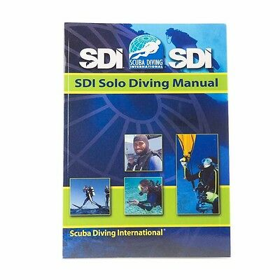 SDI Solo Diving Manual & Knowledge Quest Workbook for  Advanced Scuba Divers
