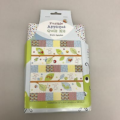 Bug's Paradise Fusible Applique Quilt Kit