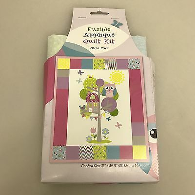 Olani Owl Fusible Applique Quilt Kit