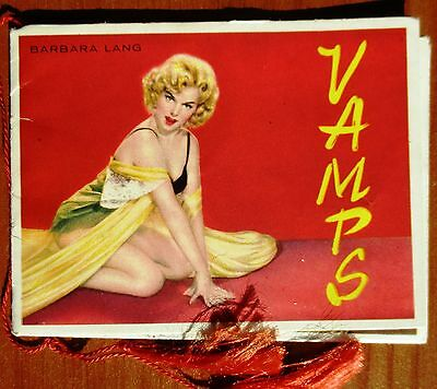 CALENDARIETTO da BARBIERE - VAMPS - ANNO 1960