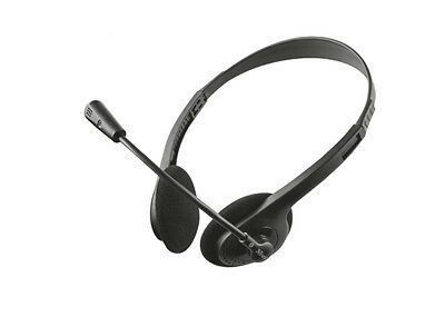 CUFFIE TRUST Primo CHAT 11916 STEREO 3,5mm microfono Headset