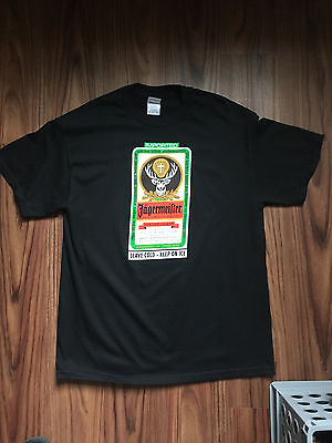 "Jagermeister ""The Toasters"" Shirt SKA Size Large"