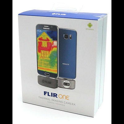 ** SEALED RETAIL BOX ** FLIR ONE for Android New - Thermal Imager FREE SHIPPING