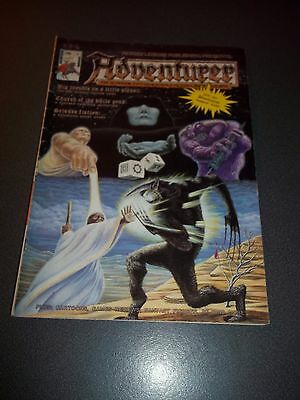 Adventurer Fantasy & Science Fiction Magazine #7, 1987, Dungeons & Dragons