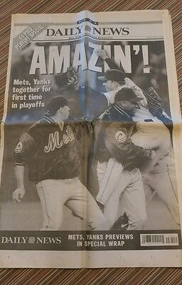 Yankees vs. Mets Playoff 1999 44 pg. playoff edition Daily News, collectible