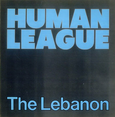"Human League -The Lebanon - Rare Classic 80's 2 Track 12"" Single"