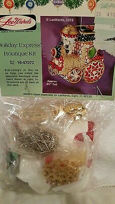 Vintage Lee Wards Holiday Express Train ornament kit