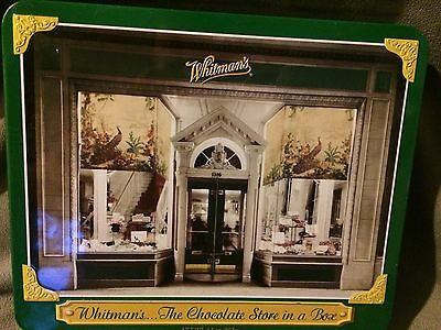 Whitman's Chocolate Store In A Box Hinge Tin Collectible Vintage Tin