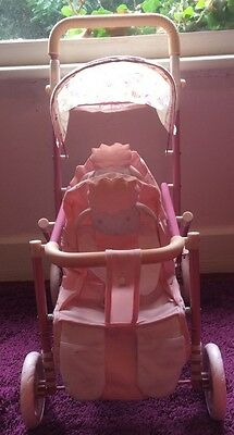 Baby Annabell Double Lamb Pram/ Pushchair/ Buggy - Zaps Creation