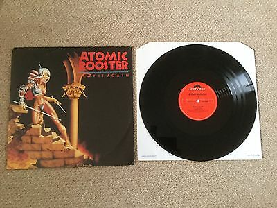 "ATOMIC ROOSTER "" PLAY IT AGAN "" 12"" 3 TRACK POLYDOR 1st ISSUE A // 1 B // 1 P/S"