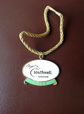 Southwell Racecourse Annual Members Badge 2002