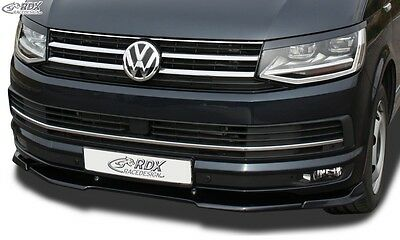 VW T6 2015+ (for painted and unpainted bumper) Front splitter Vario PUR Plastic