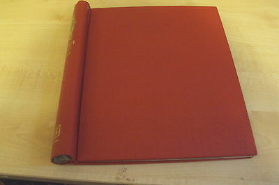 Red STANLEY GIBBONS ALBUM COVER, (no pages)