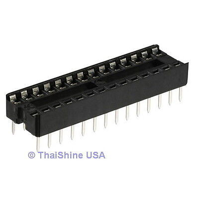 20 x 28 pin DIP IC Sockets Adaptor Solder Type Socket - USA Seller - Get It Fast