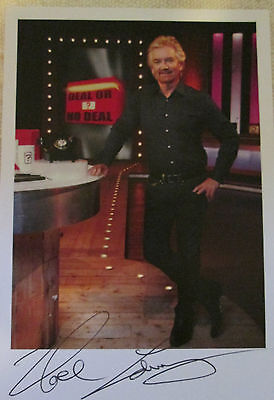 6x4 Hand Signed Photo of Deal or No Deal Host Noel Edmonds