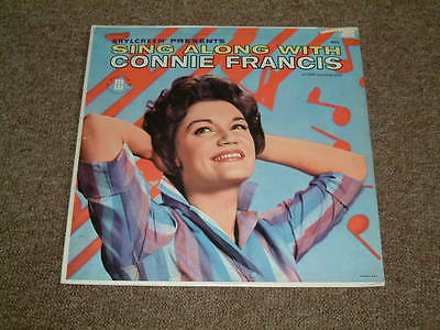 """LP CONNIE FRANCIS - """"Sing Along With Connie Francis"""""""