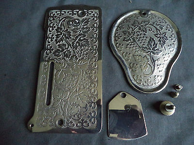 Vintage Singer Sewing Machine-Front/side Covers 28/128