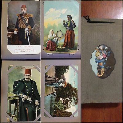 Album Lotto Cartoline Antiche Salut De Constantinople Oltre 70 Postcard