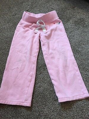 Girls Pink Jogging Bottoms Trousers 2-3 Next